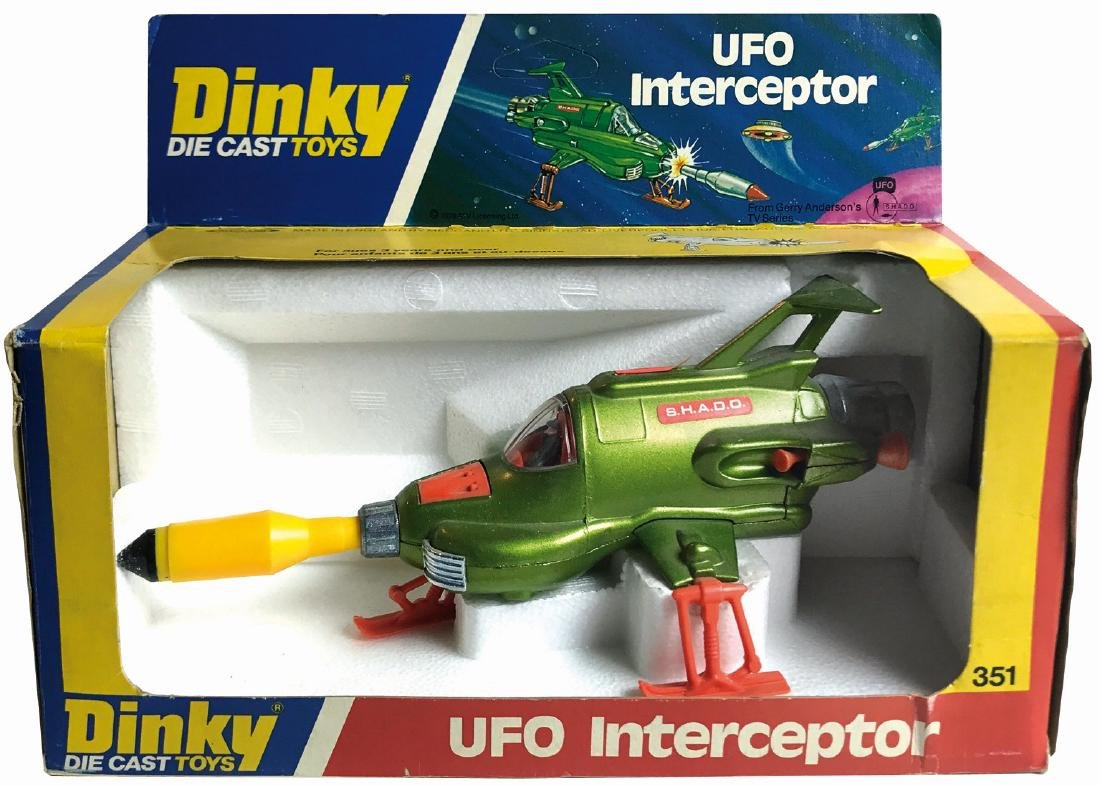 -  UFO Interceptor Dinky Toys n. 351