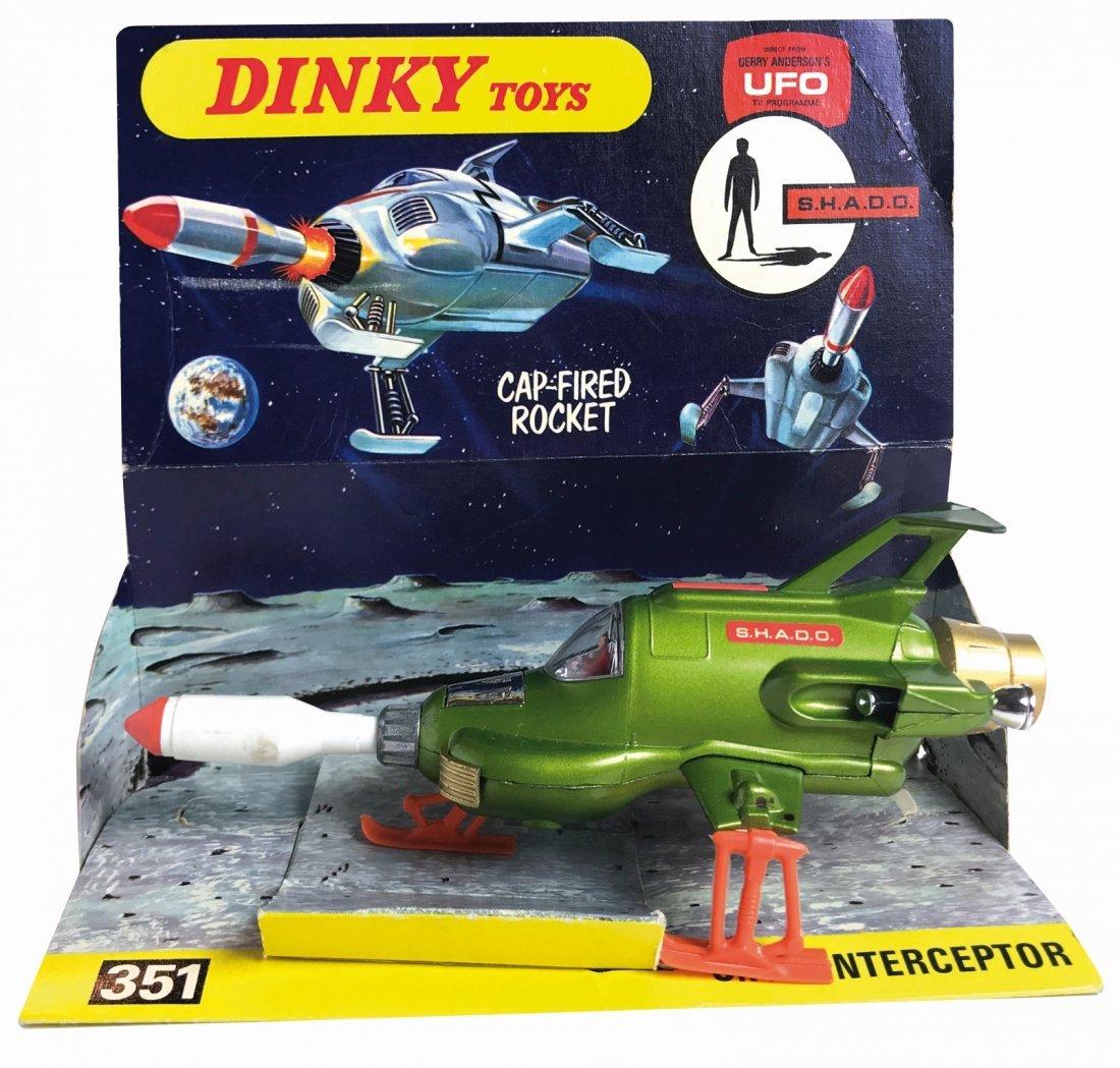 -  U.F.O. Interceptor Cap-fired Rocket Dinky Toys n.