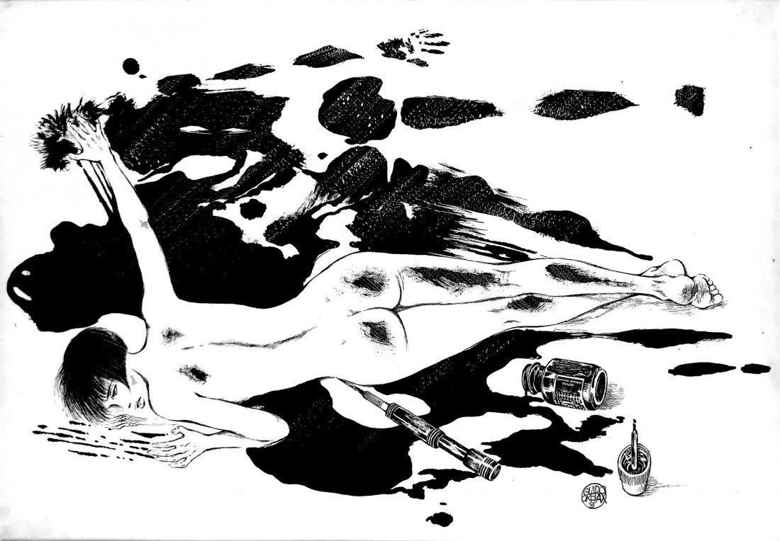 GUIDO CREPAX  -  Valentina nell'inchiostro