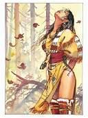 MILO MANARA - Pocahontas