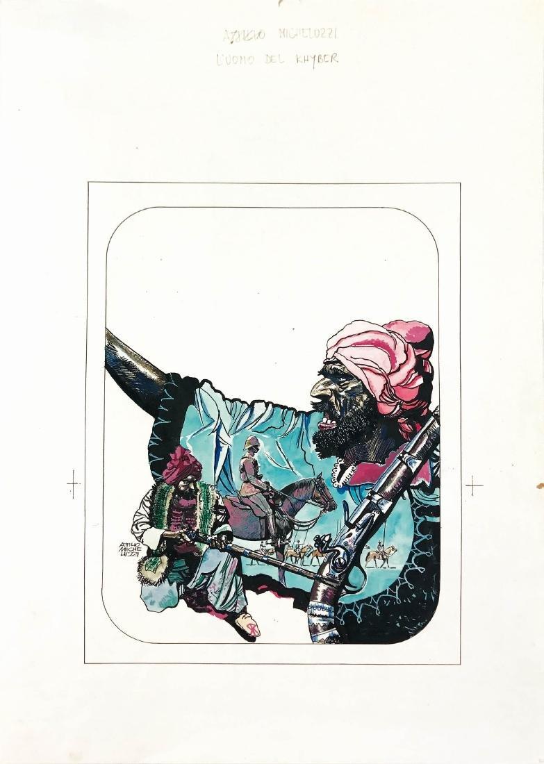 ATTILIO MICHELUZZI  -  L'uomo del Khyber