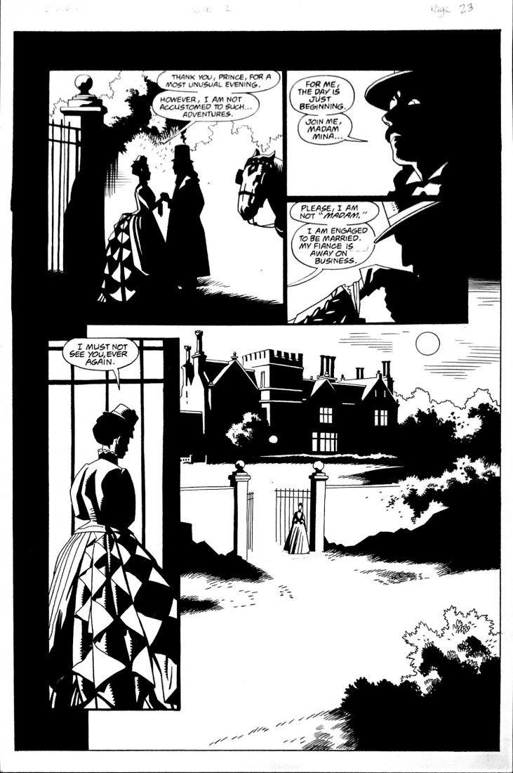 MIKE MIGNOLA - ROY THOMAS  -  Bram Stoker's Dracula