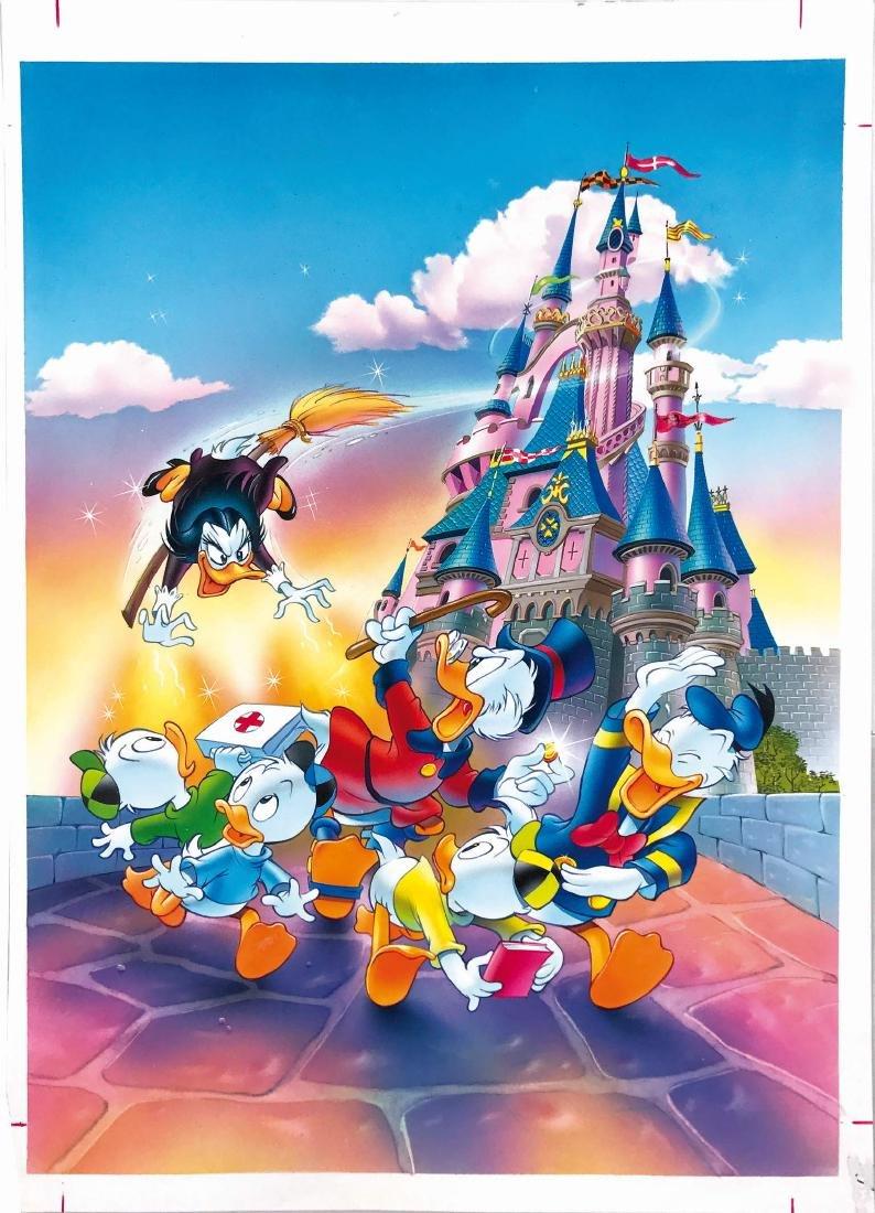 SCARPA  -  Avventure a Euro Disney. Cover art