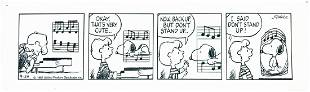 CHARLES SCHULZ - Dayli strip 9/29/1987