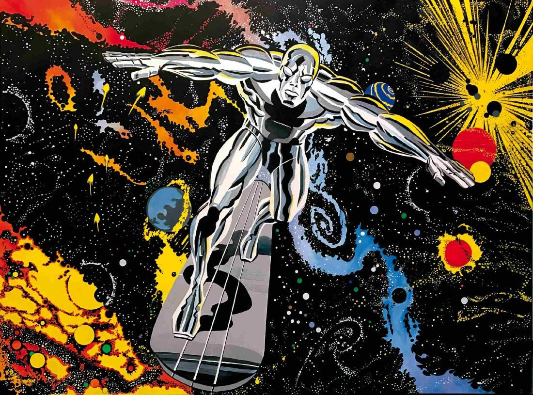 LARRY CAMARDA - Silver Surfer tribute to Kirby