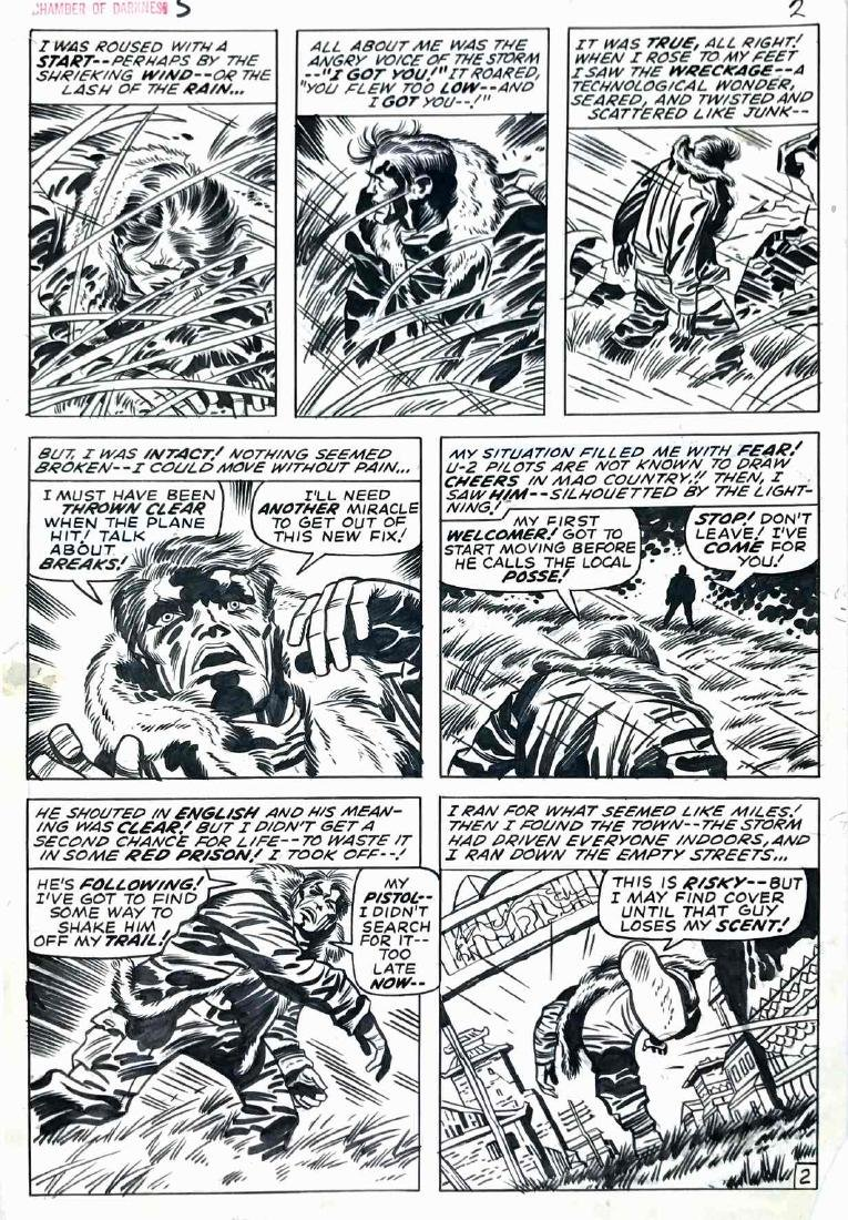 JACK KIRBY  -  Chamber of Darkness - And Fear Shall