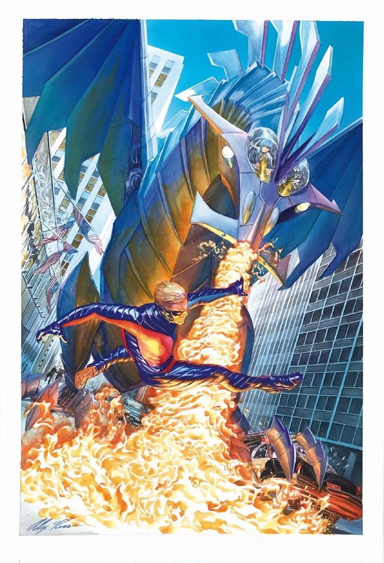 ALEX ROSS  -  Peter Cannon Thunderbolt #5