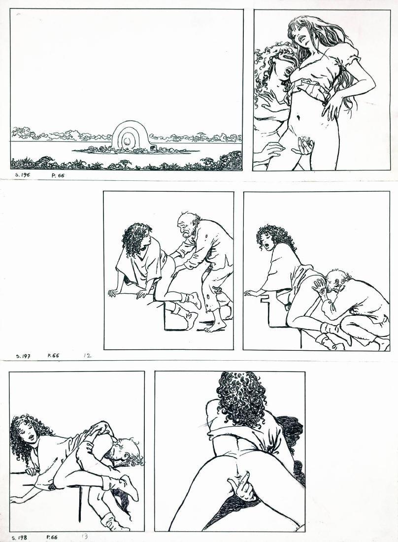 MILO MANARA  -  Gioco 3
