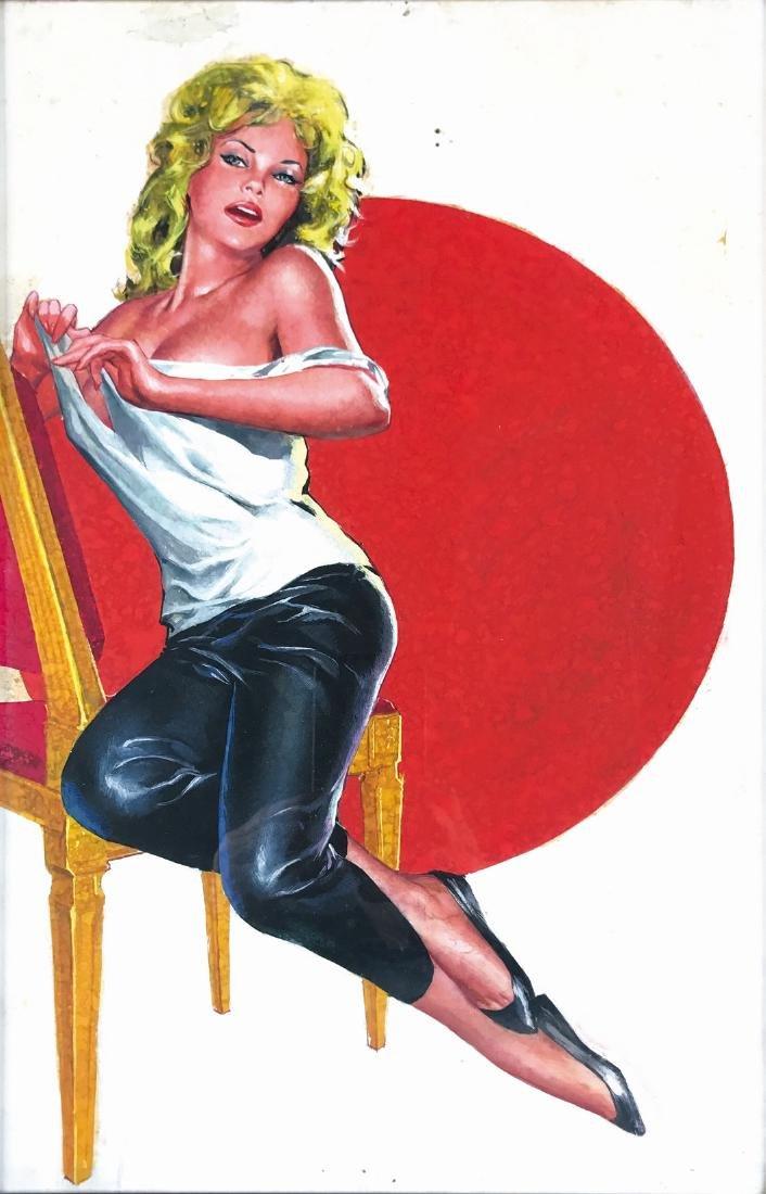 AVERARDO CIRIELLO - Pin Up cover art