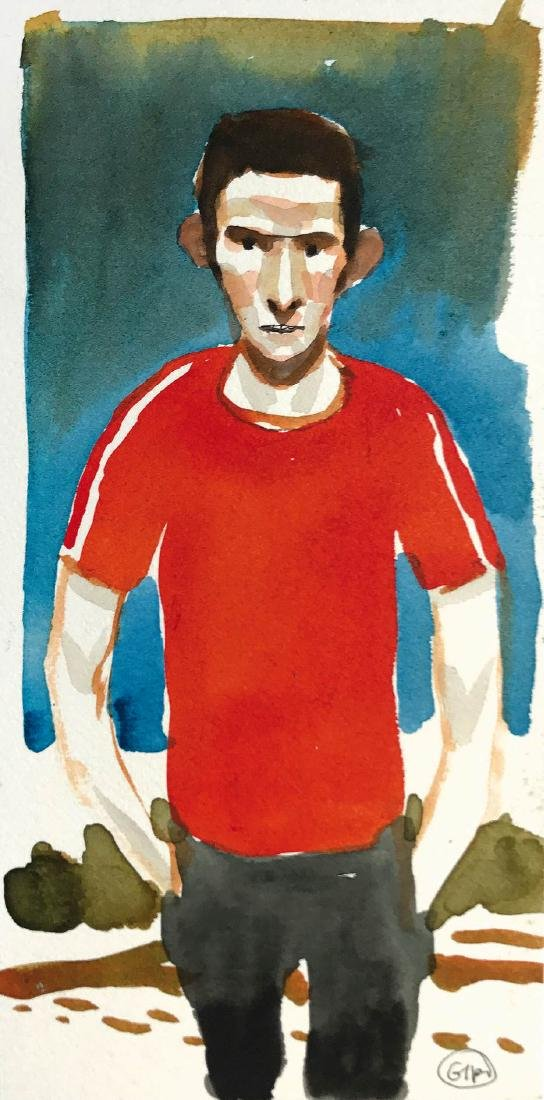 GIPI (Gian Alfonso Pacinotti)  -  Autoritratto