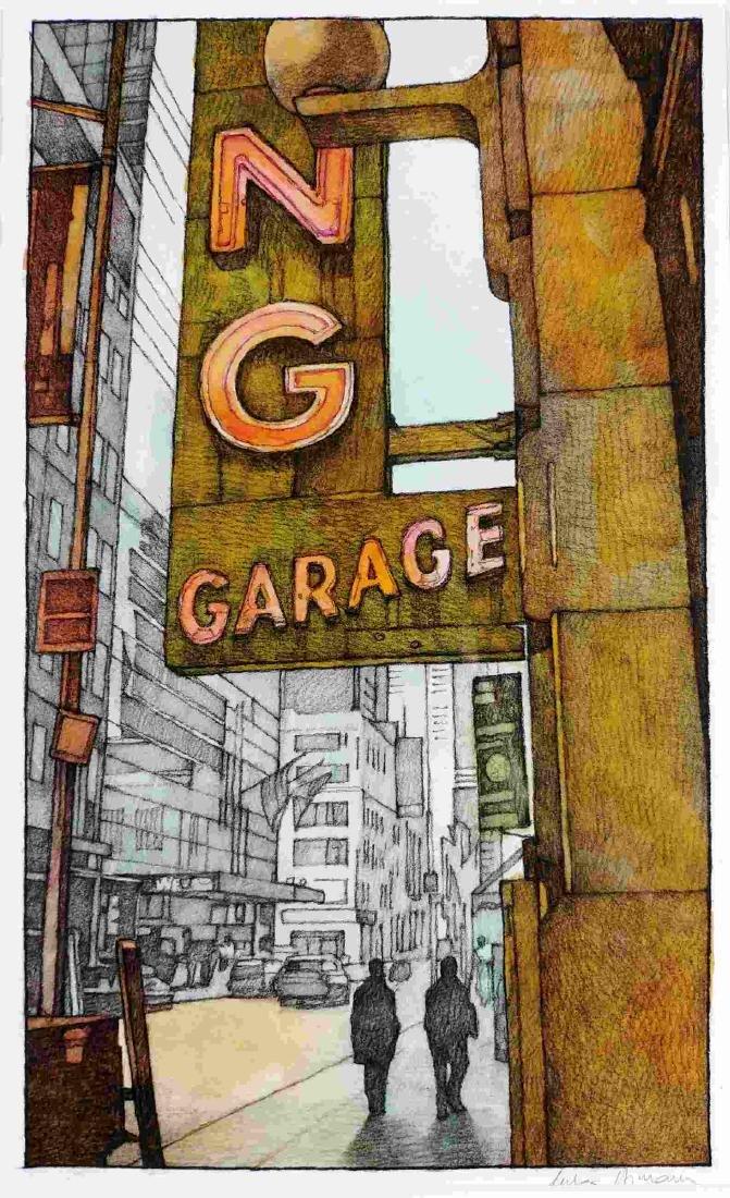 MILES HYMAN  -  Parking Garage