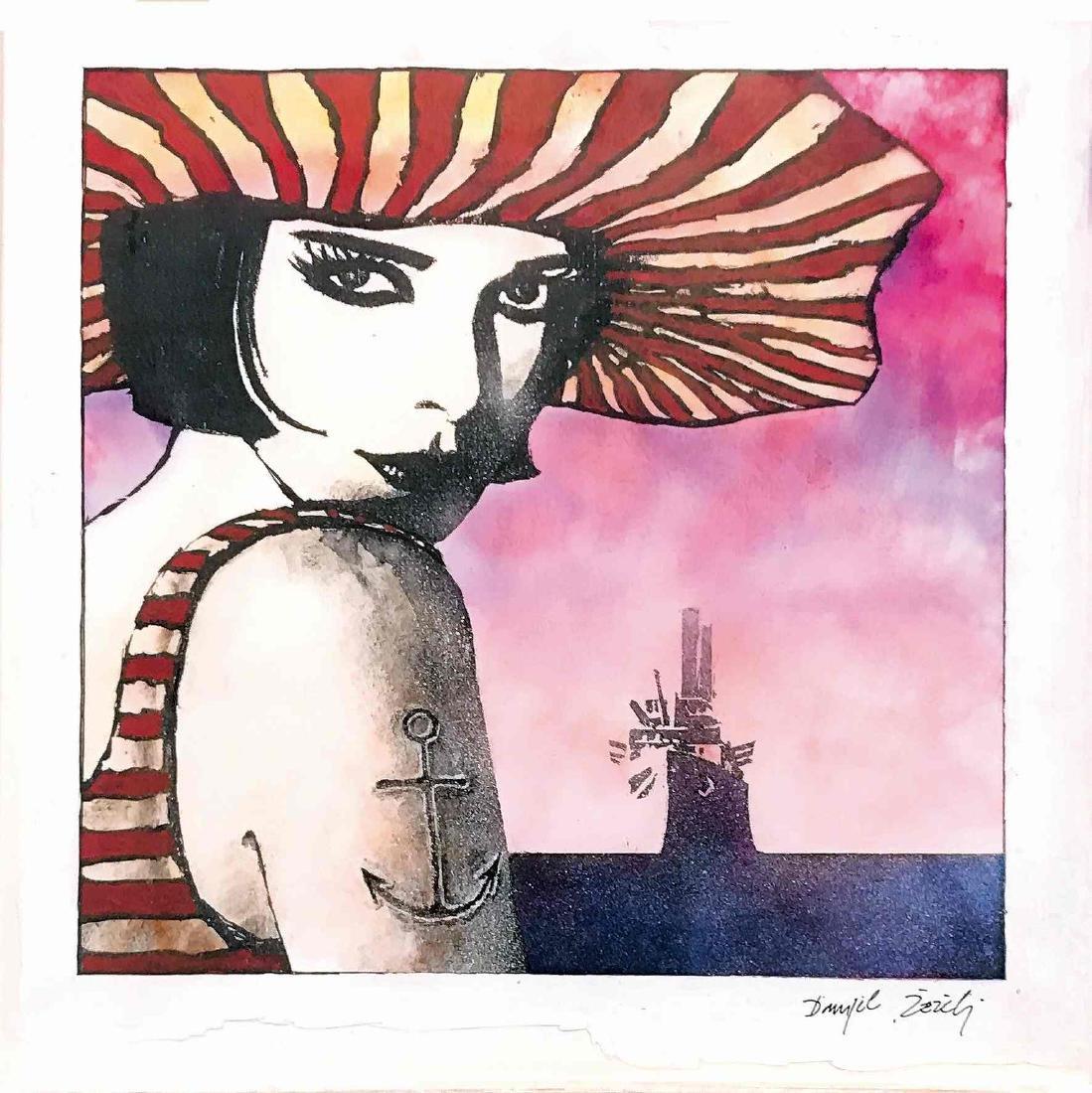 DANIJEL ZEZELJ  -  Cover per Il Grifo