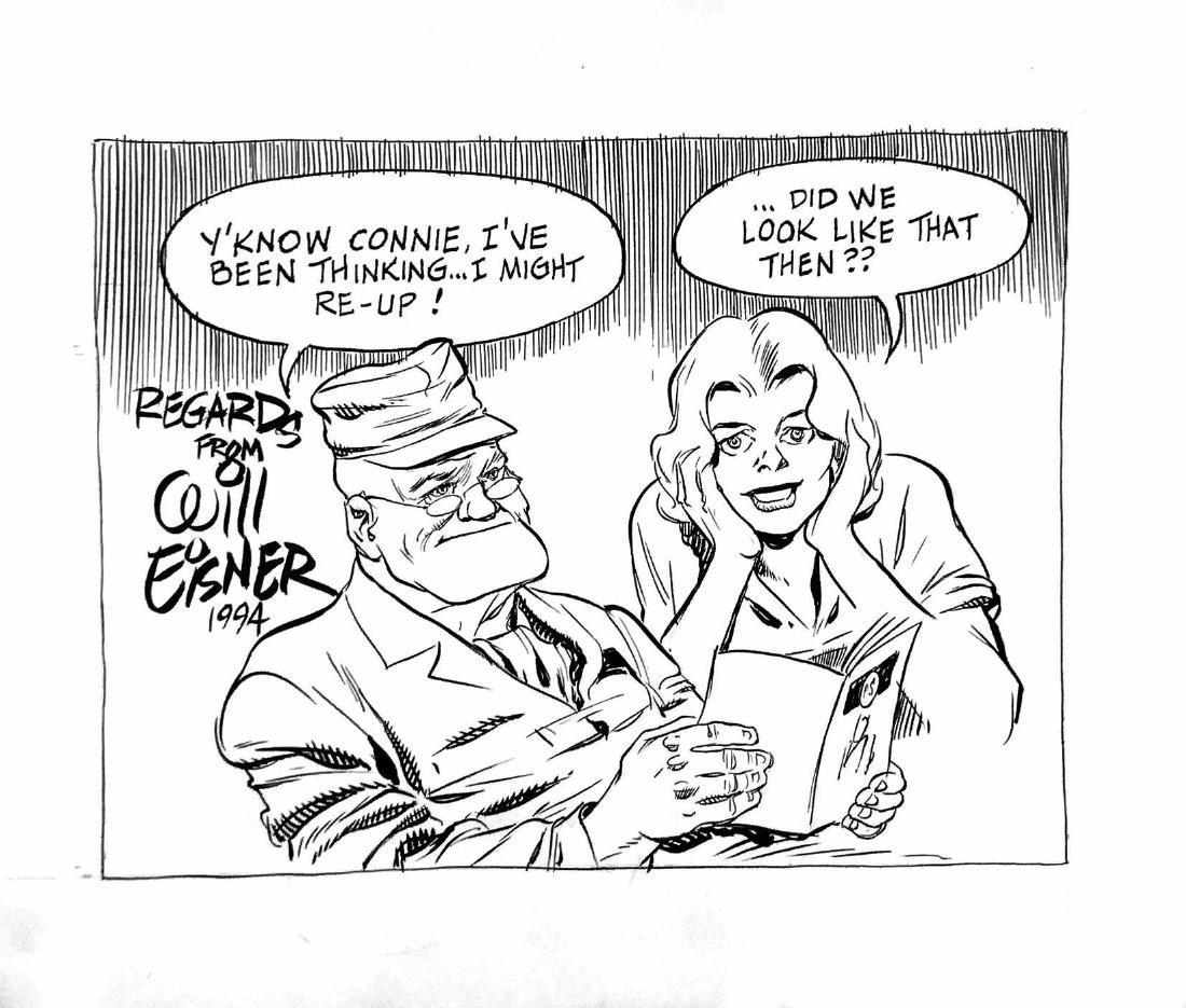 WILL EISNERRegards from Will Eisner