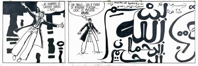 HUGO PRATT  -  Favola di Venezia � Sirat al- Bunduqiyya