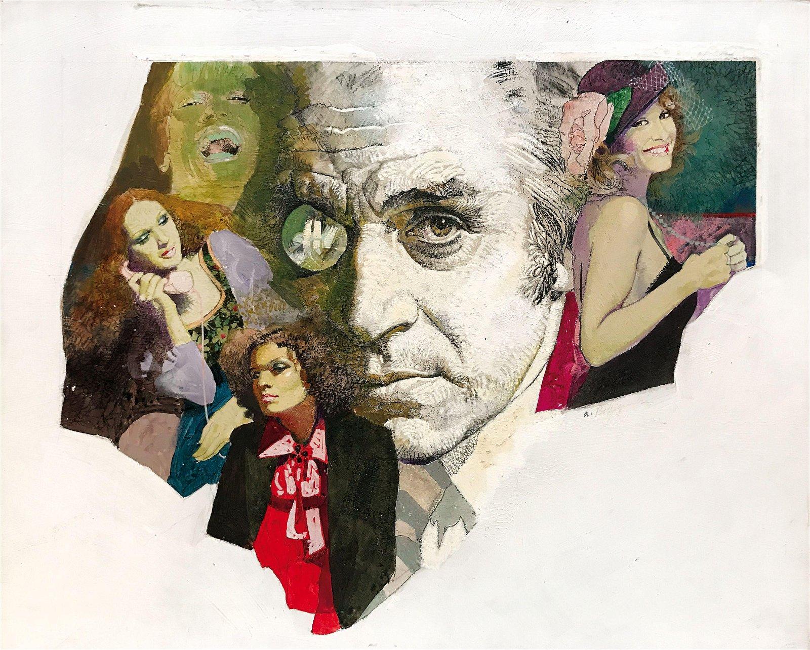 """A. BIFFIGNANDI  -  Illustrazione per """"Grazia"""""""