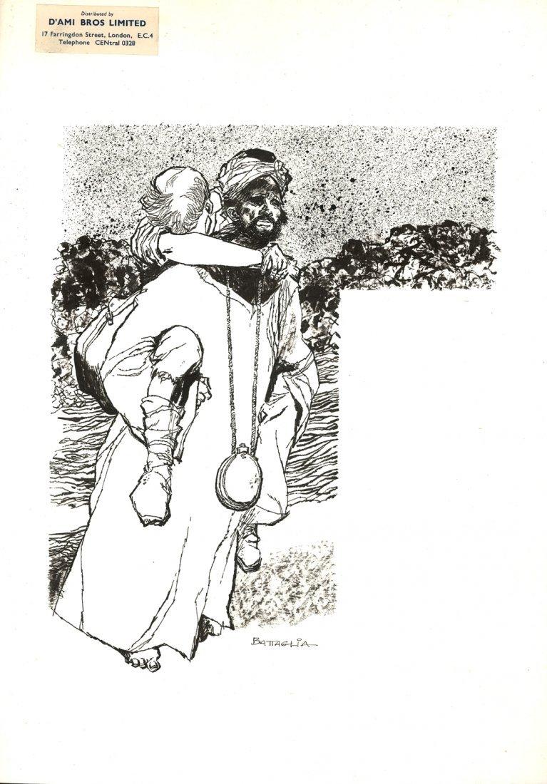 4: DINO BATTAGLIA, Persi nel deserto