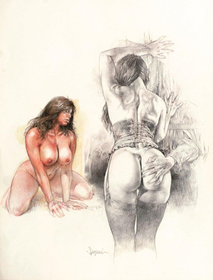 30: PAOLO ELEUTERI SERPIERI, Due illustrazioni per Foem
