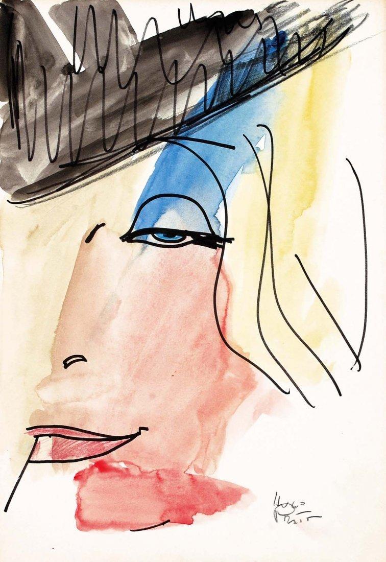 246: HUGO PRATT Marlene Dietrich