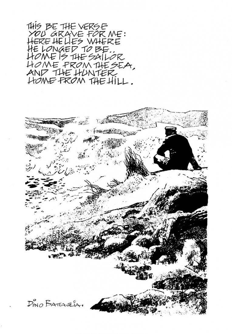 260: DINO BATTAGLIA Here he lies where he longed to be.