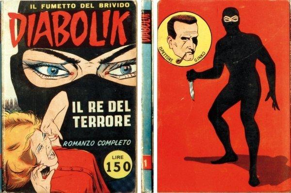 1: Diabolik - Il fumetto del brivido: Il re del terrore