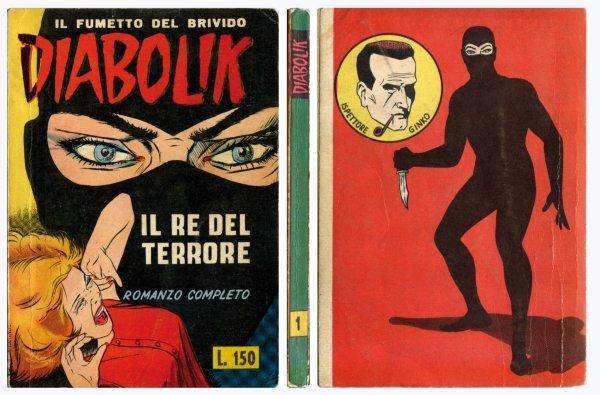 3: Diabolik – Il fumetto del brivido: Il re del terrore