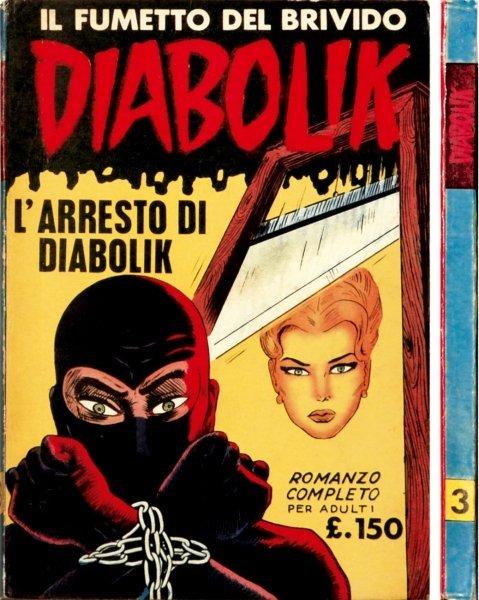 7: Diabolik - L'arresto di Diabolik