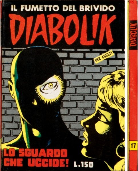 17: Diabolik - Lo sguardo che uccide!