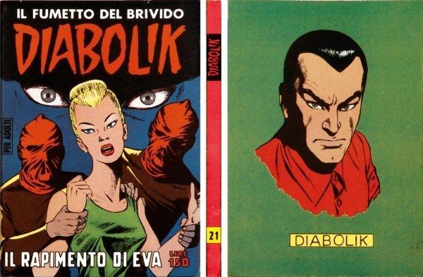 21: Diabolik - Il rapimento di Eva