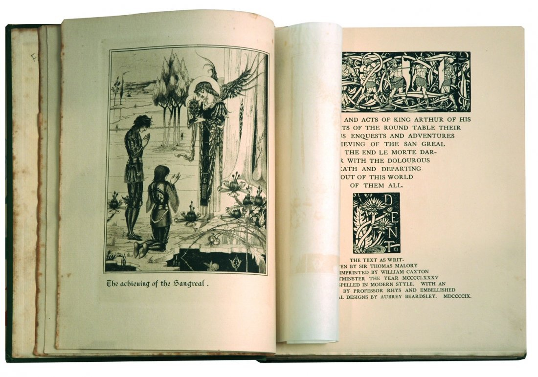 2: AUBREY BEARDSLEY  Le Morte d'Arthur - 2