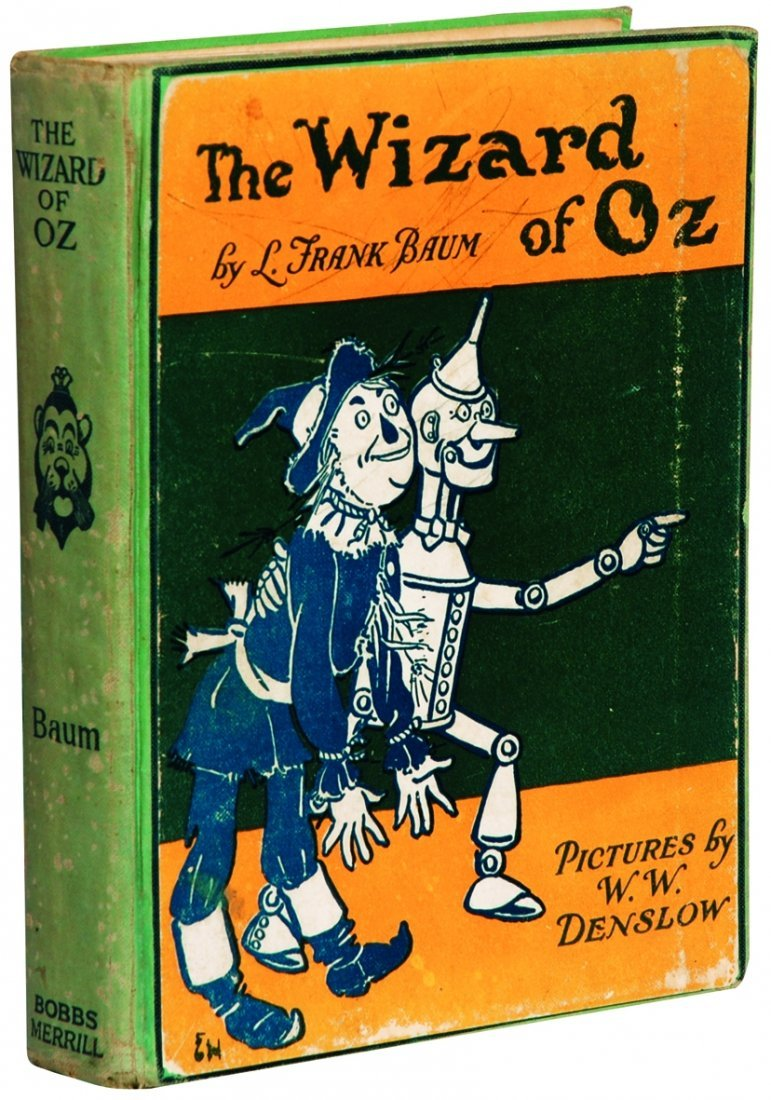 4: WILLIAM WALLACE DENSLOW  The Wizard of Oz