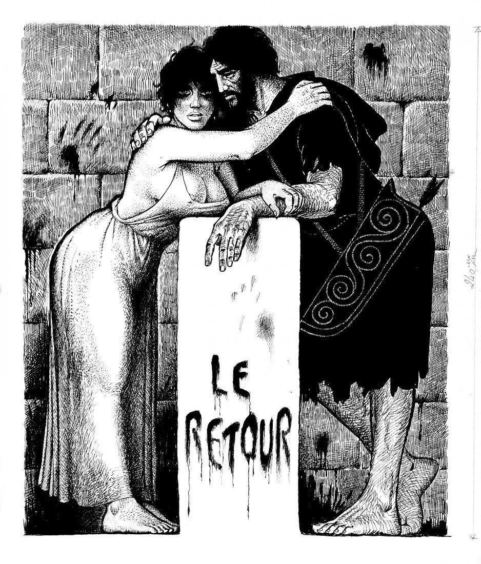 38: GEORGES PICHARD  Ulysse - Le retour