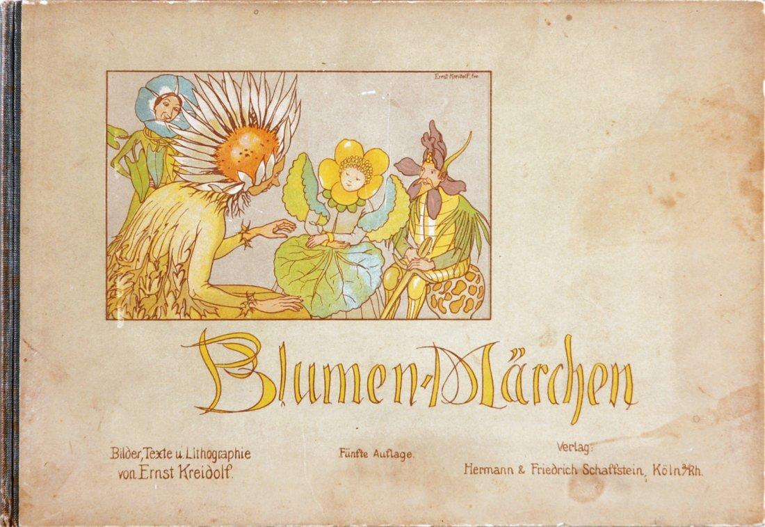 Ernst Kreidolf  Blumen-Märchen