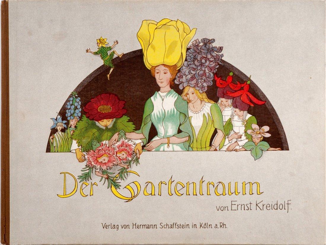 Ernst Kreidolf Der Gartentraum. Neue Blumenmärchen