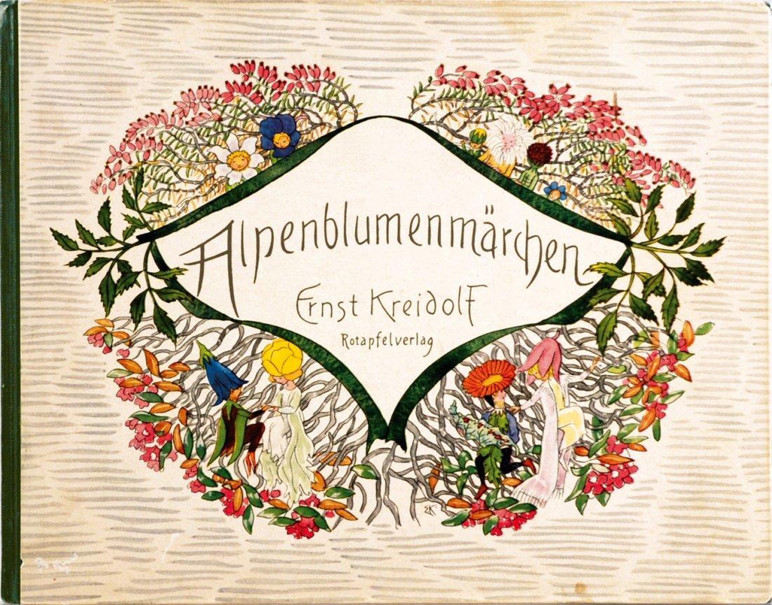Ernst Kreidolf Alpenblumenmärchen