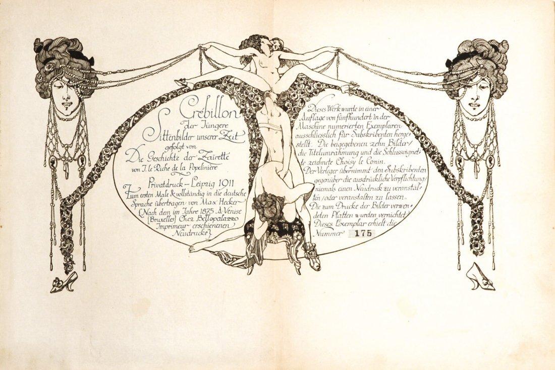 Choisy Le Conin (Franz Von Bayros)  Sittenbilder unsere