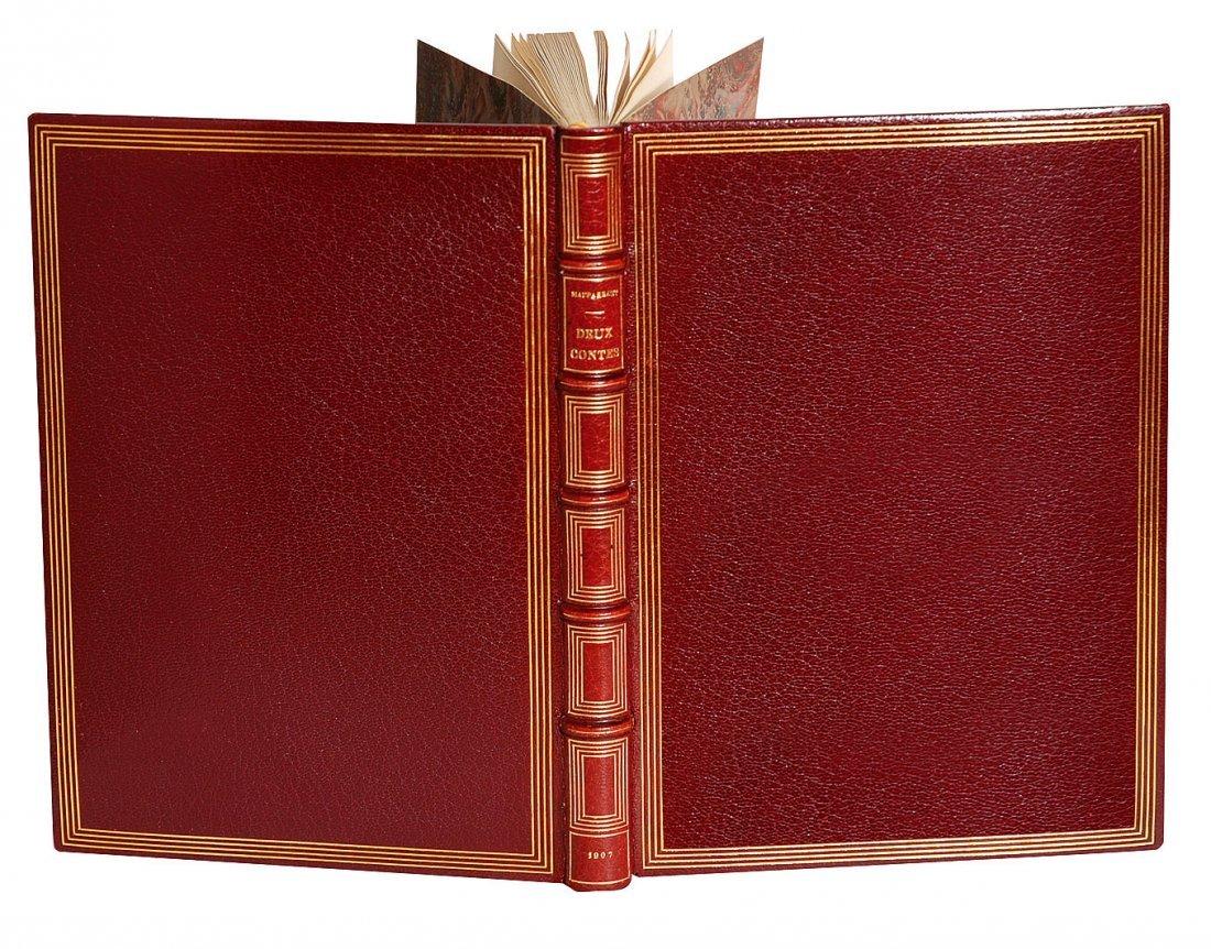 Auguste Louis Lepère  Deux contes - Le Vieux. La Ficell