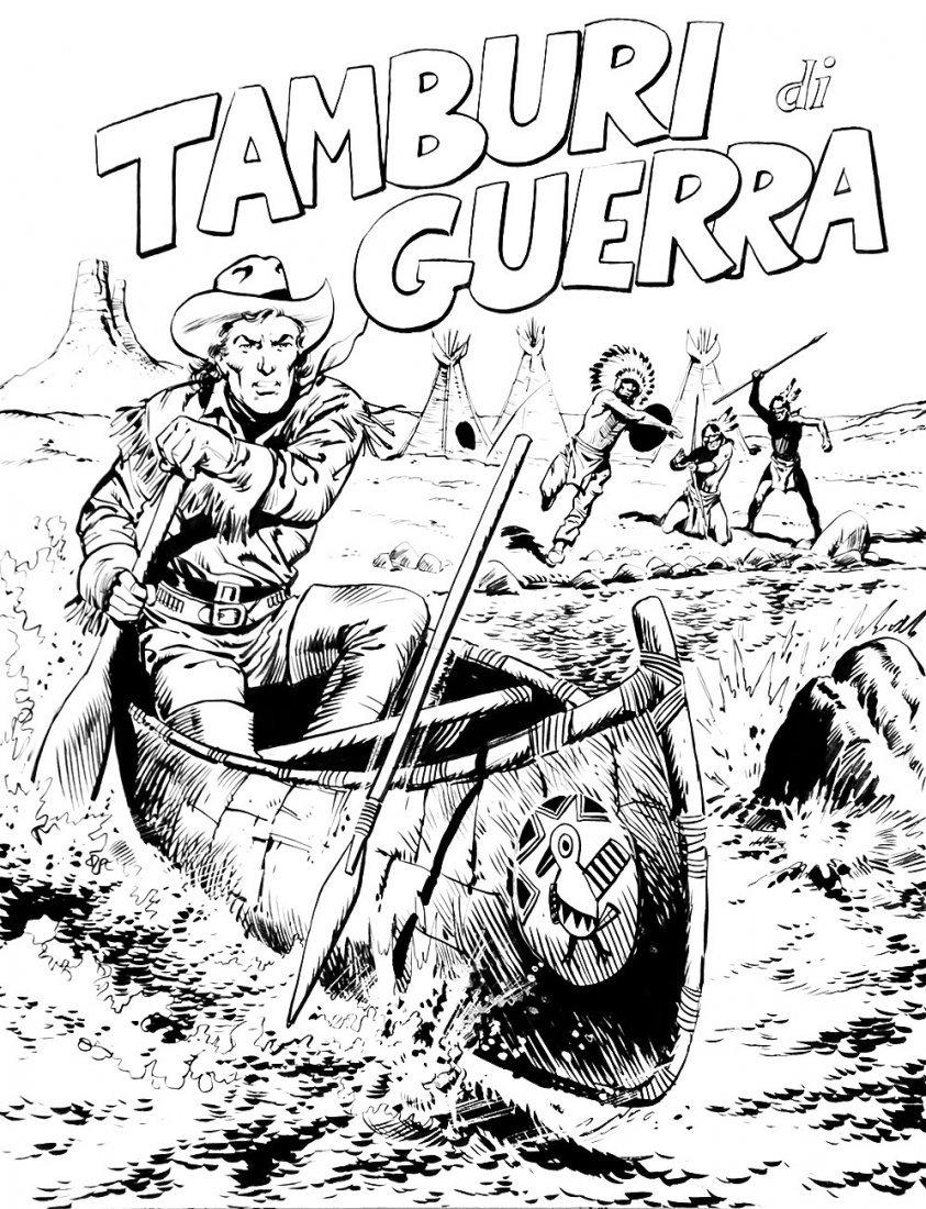 Franco Bignotti  Hondo. Tamburi di guerra