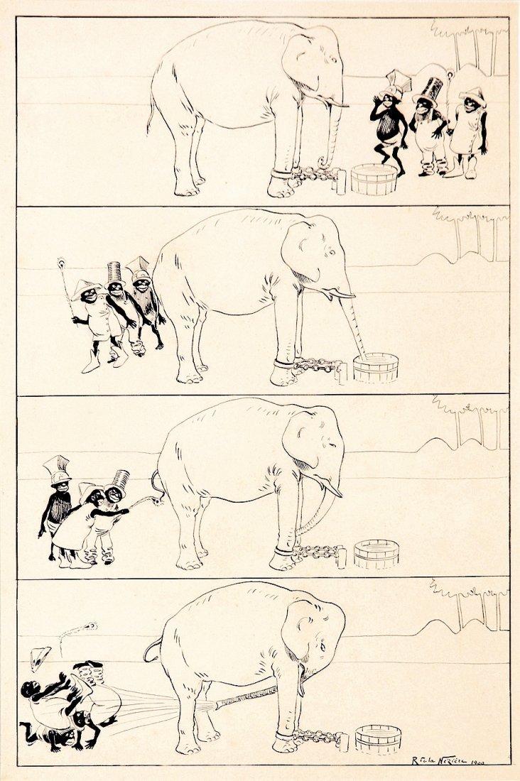 Raymond De La Nézière  Original art - Proto-Comic