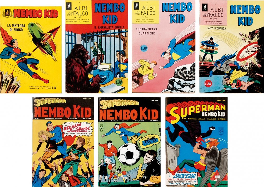 Albi del Falco-Superman Nembo Kid