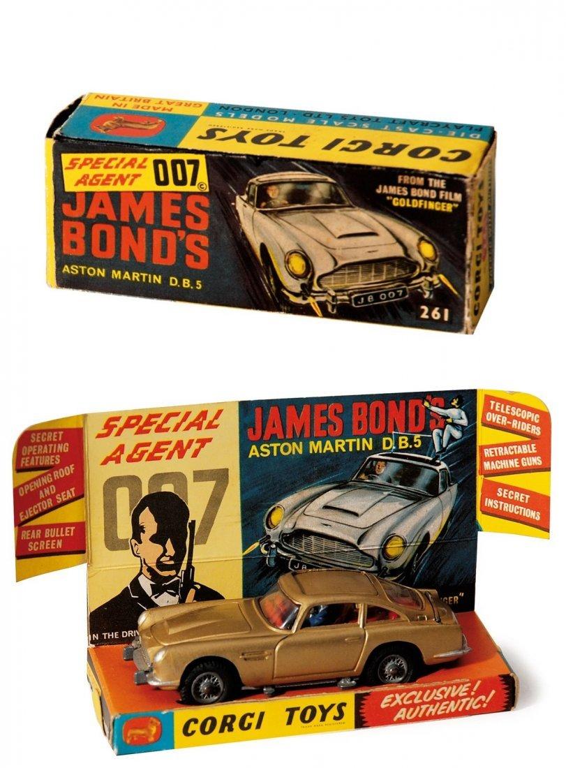 Special agent 007 - James Bond's Aston Martin DB