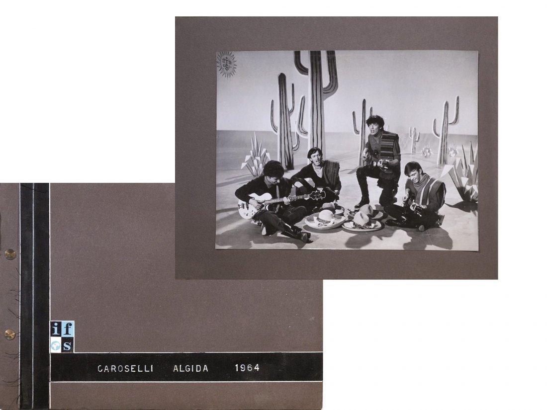 Caroselli Algida 1964: the Rokes