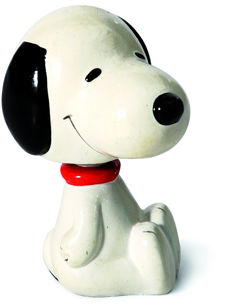 . Lucy e Snoopy bobblehead