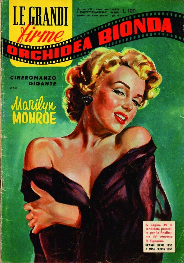 Marilyn Monroe - Orchidea Bionda