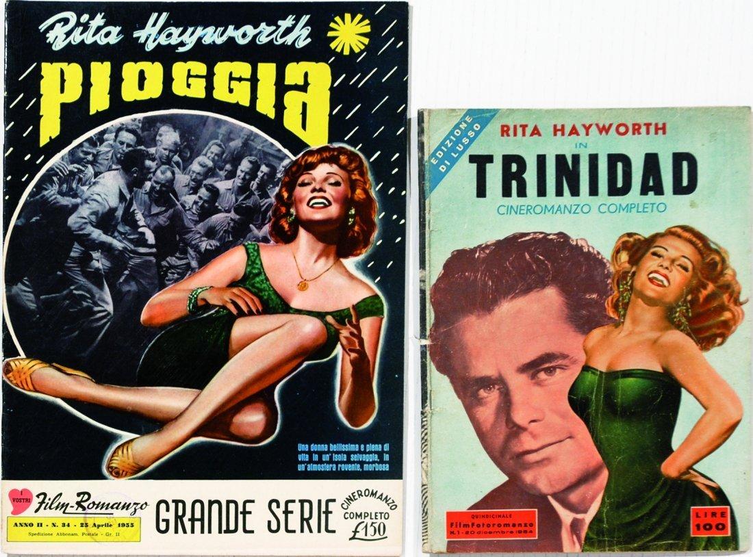 Rita Hayworth - Pioggia