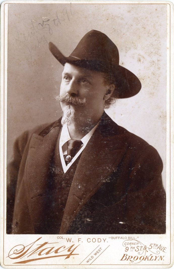 Buffalo Bill - Col. William Frederic Cody - Fotografia