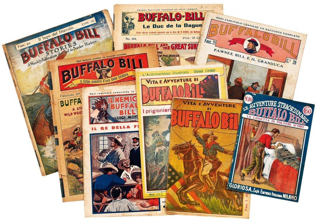 Buffalo Bill - Collezione testate e dispense d'epoca