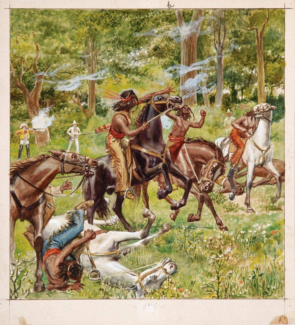 Buffalo Bill originale di copertina n°13