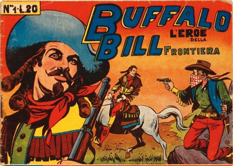 Buffalo Bill l'Eroe della Frontiera n°1