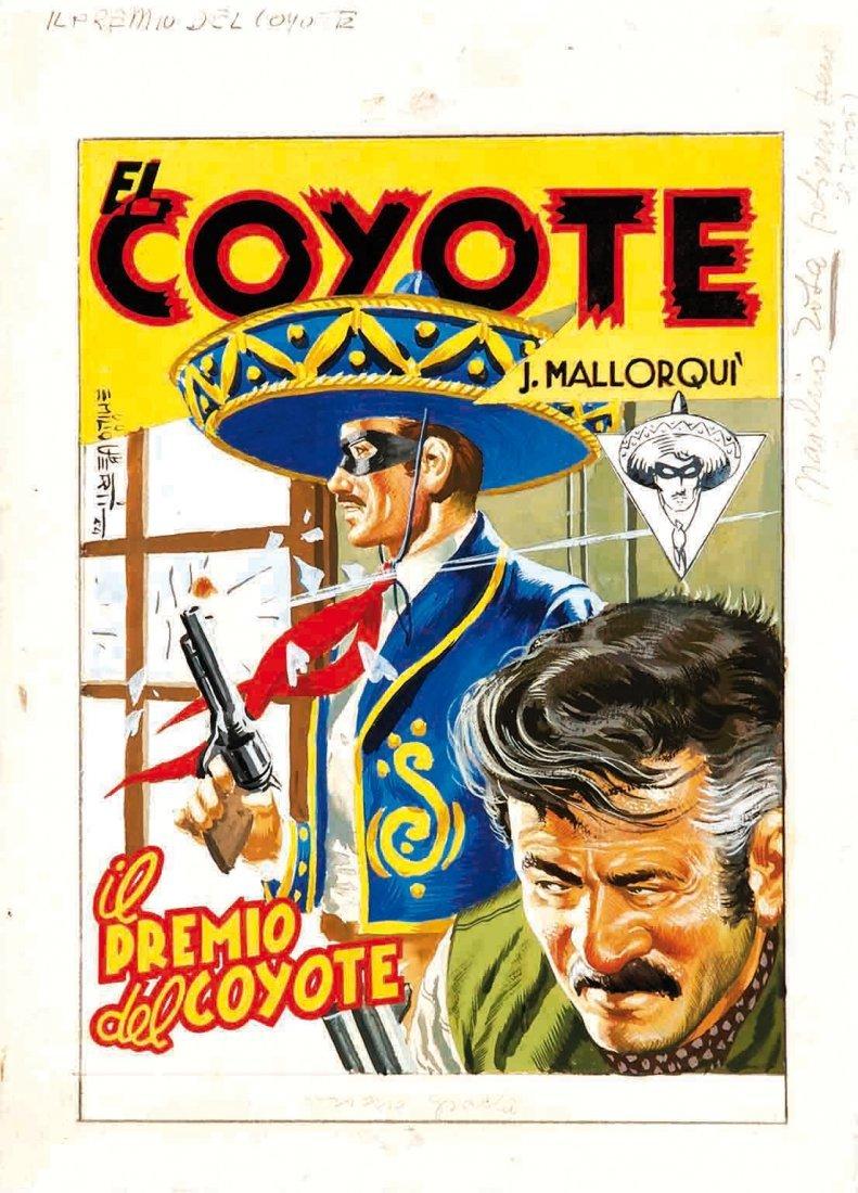 Emilio Uberti El Coyote: il premio del coyote