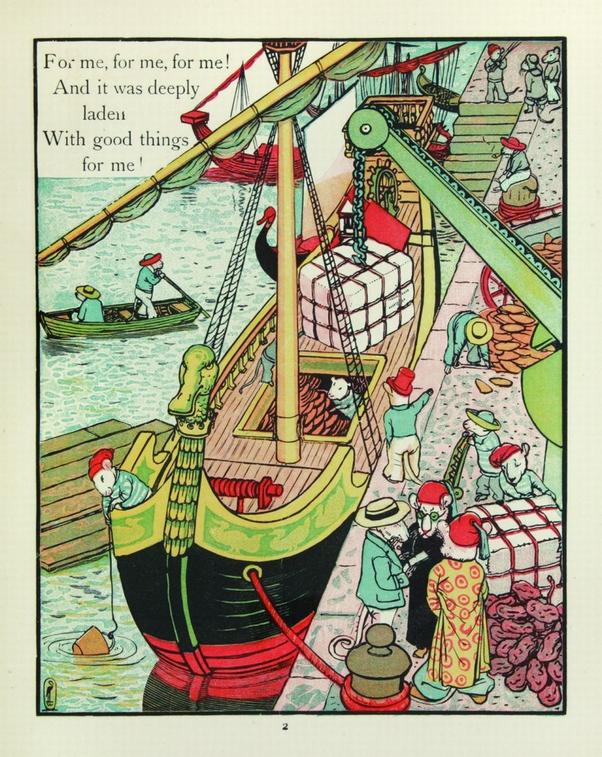 Walter Crane This Little Pig's picture book